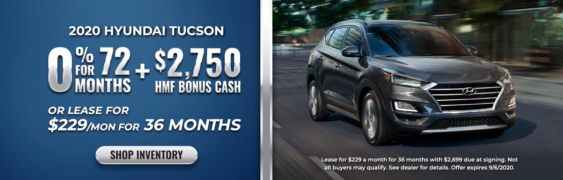 Finance or lease 2020 Tuscon at Ed Voyles Hyundai of Smyrna, GA