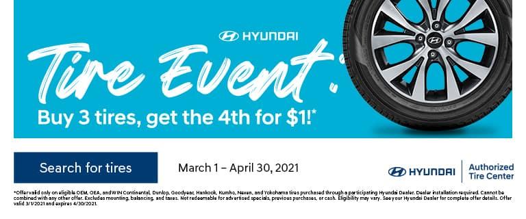 Spring 2021 Tire Event