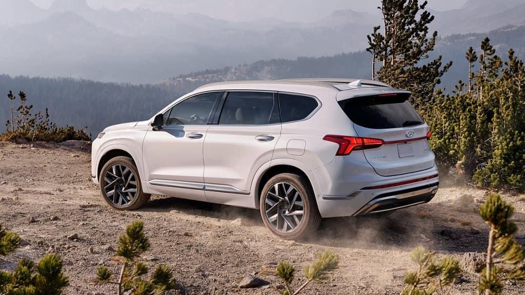 2021 Hyundai Santa Fe exterior