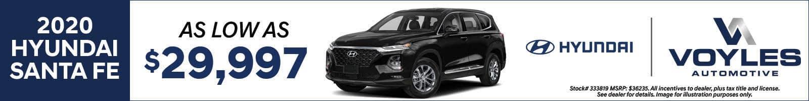 Ed Voyles Hyundai Santa Fe
