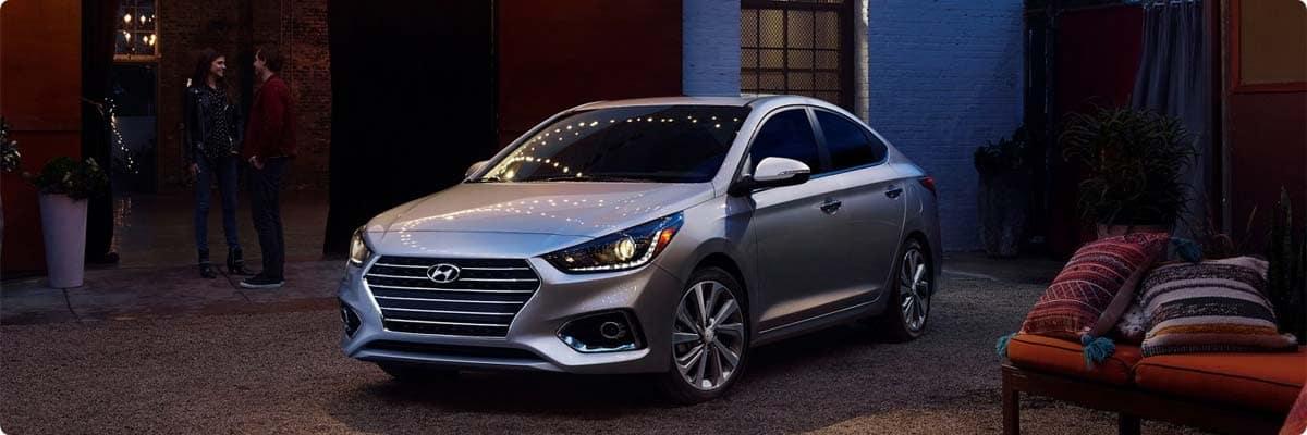 Review the 2021 Hyundai Accent in Marietta