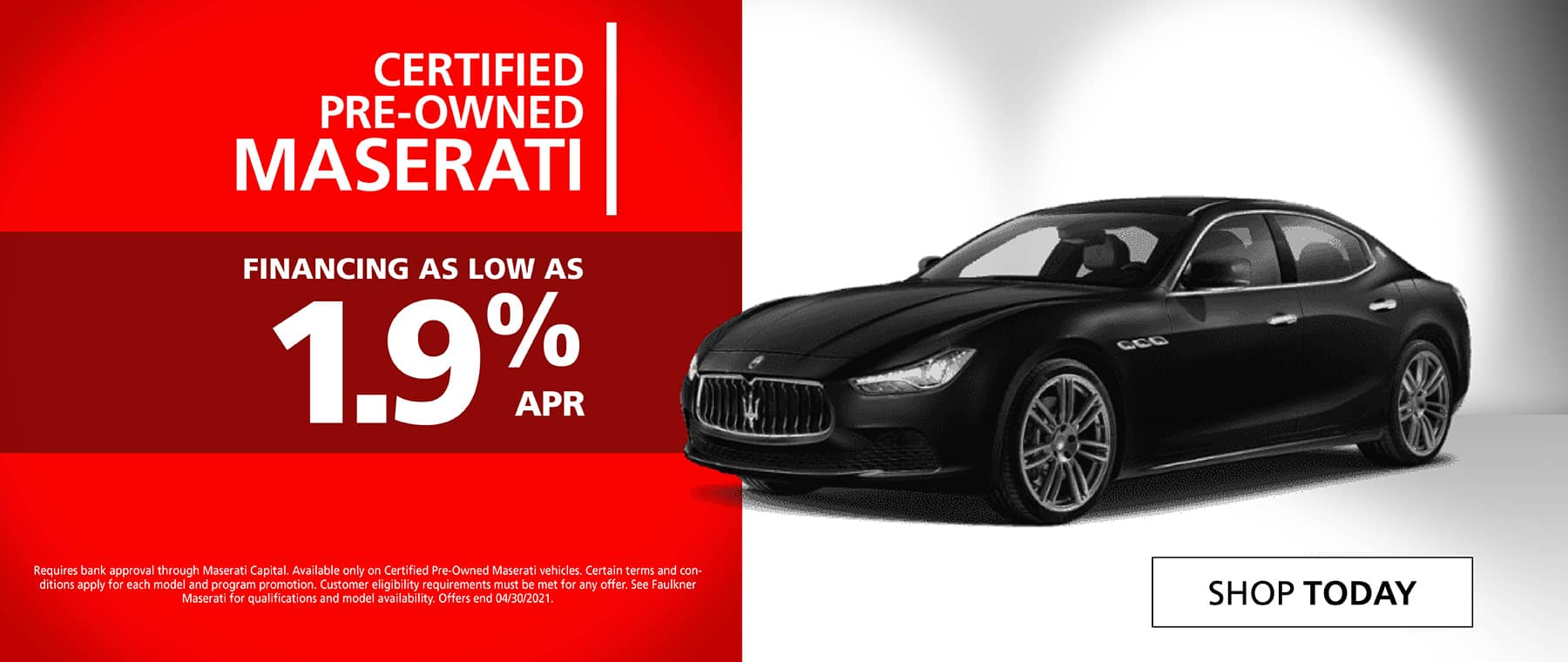 Maserati Certified Pre-Owned
