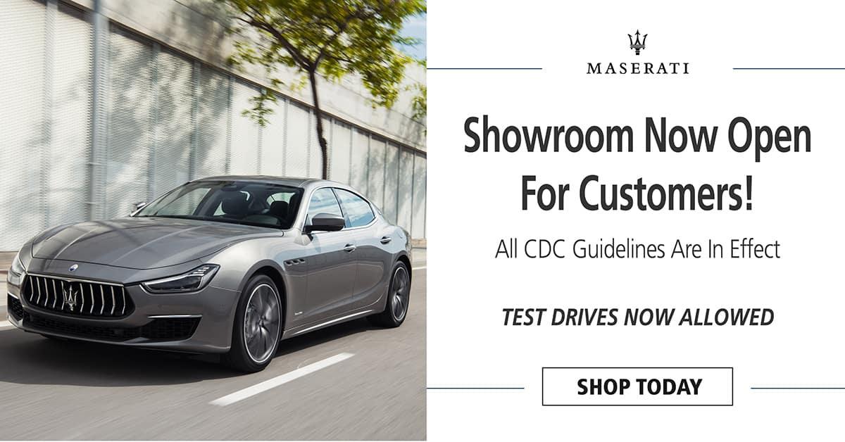 Faulkner Maserati Willow Grove Showroom Now Open