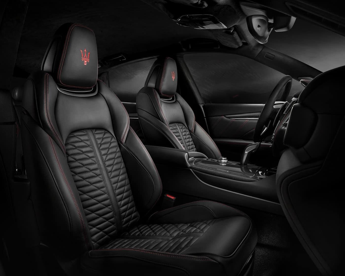 Maserati Levante Interior Leather Seats