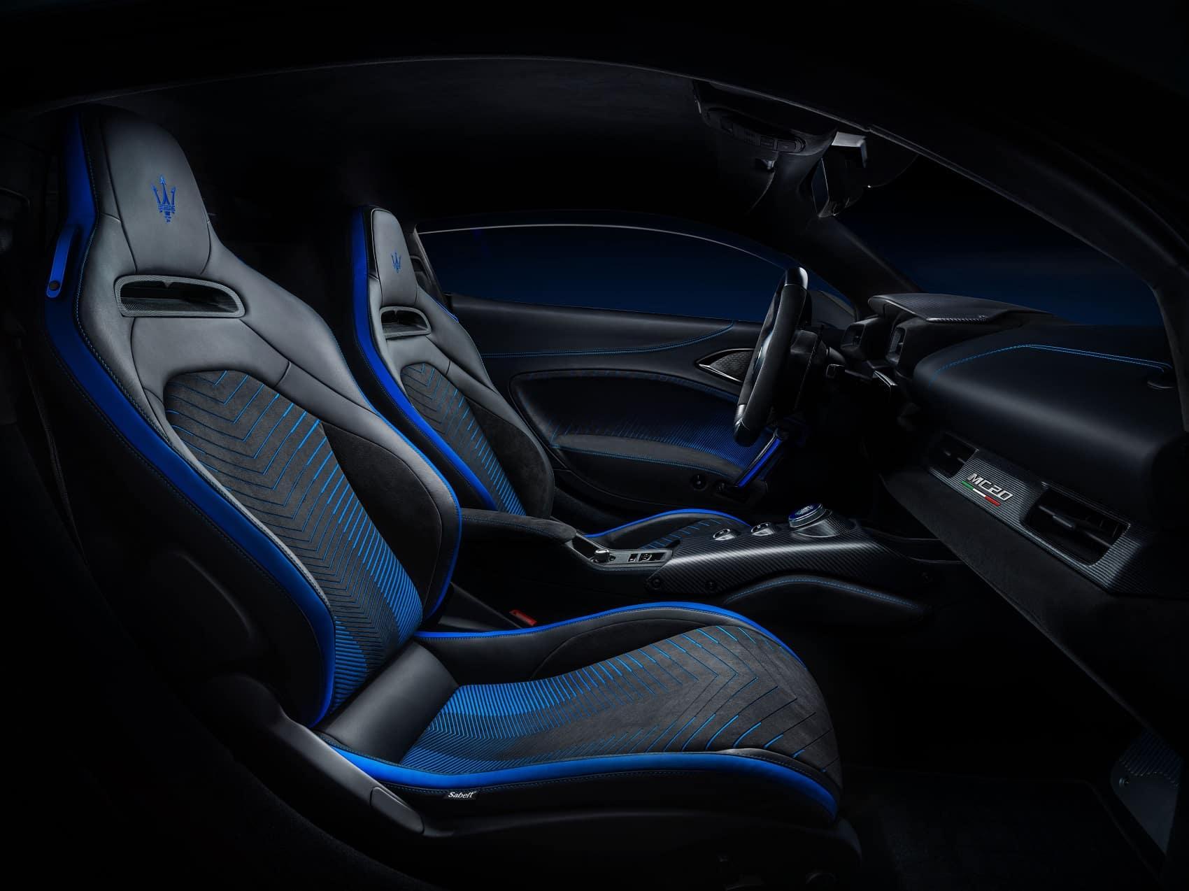 2020 Maserati MC20 Interior