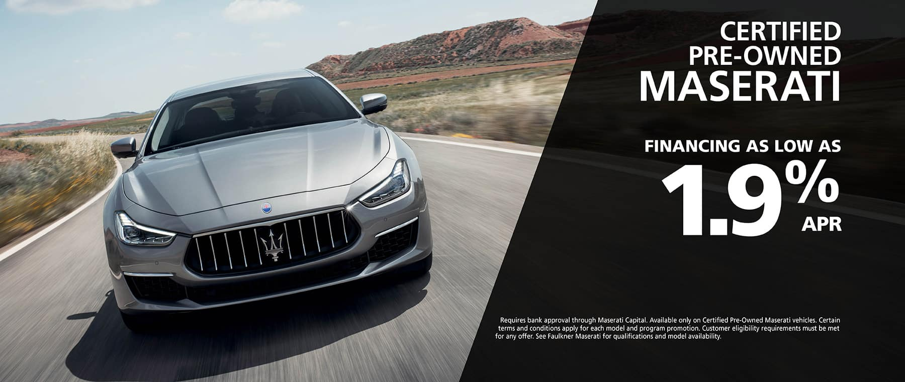 Shop Maserati Certified Pre-Owned