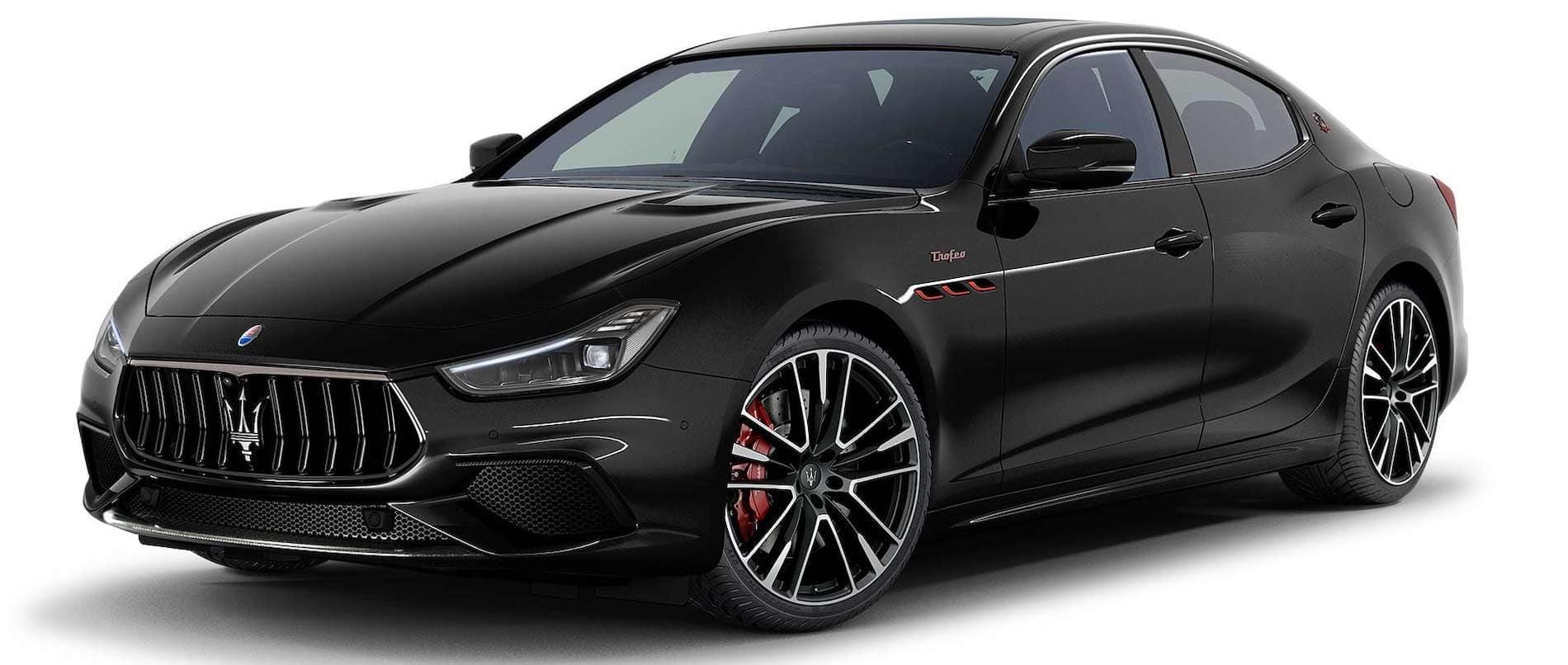 Maserati Black Banner