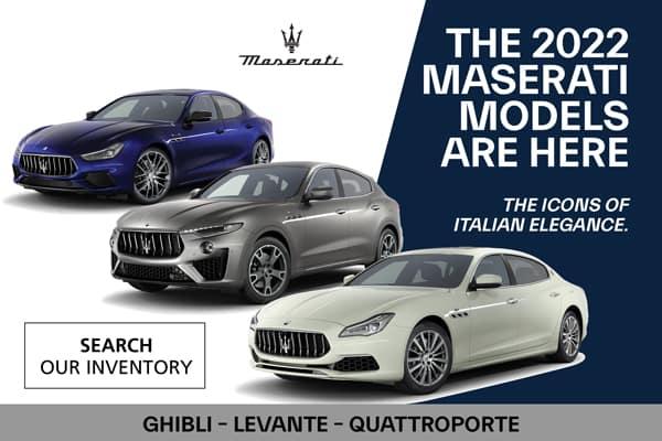 New 2022 Maserati