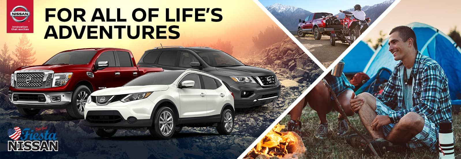 Nissan Models for Weekend Adventurers | Fiesta Nissan | Edinburg, TX