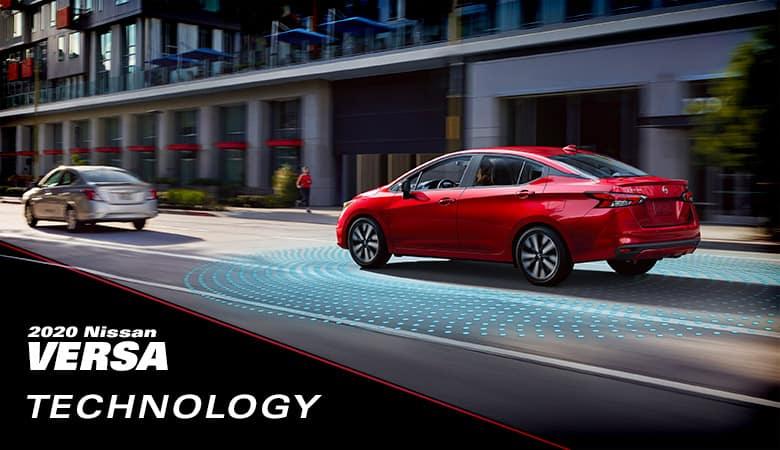 2020 Nissan Versa Technology | Fiesta Nissan | Edinburg, TX