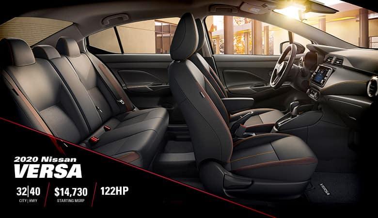 2020 Nissan Versa Overview | Fiesta Nissan | Edinburg, TX