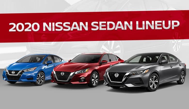Nissan's 2020 lineup of sedans - Fiesta Nissan in Edinburg, TX