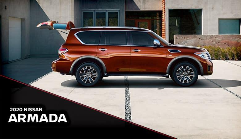 2020 Nissan Armada Spotlight | Fiesta Nissan | Edinburg, TX