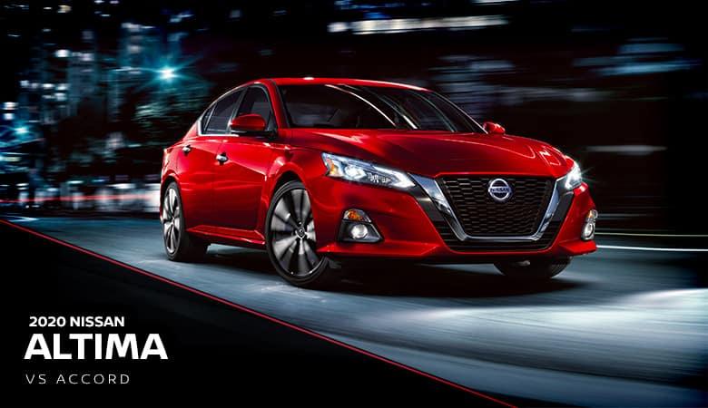 2020 Nissan Altima vs. Honda Accord | Fiesta Nissan | Edinburg, TX