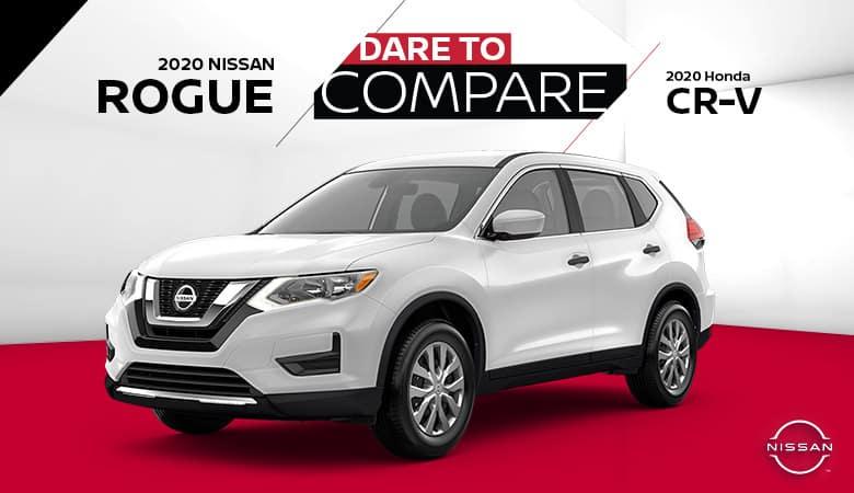 2020 Nissan Rogue vs. 2020 Honda CR-V - Fiesta Nissan in Edinburg, Texas