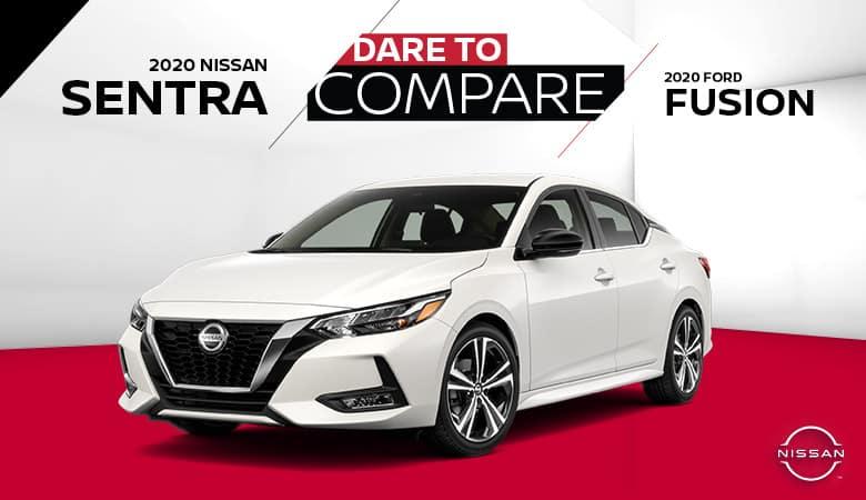 2020 Nissan Sentra vs. 2020 Ford Fusion - Fiesta Nissan in Edinburg, Texas