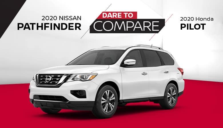 2020 Nissan Pathfinder vs. 2020 Honda Pilot - Fiesta Nissan in Edinburg, Texas