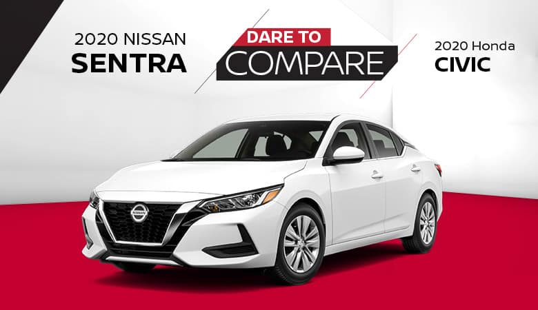 2020 Nissan Sentra vs. 2020 Honda Civic - Fiesta Nissan in Edinburg, Texas