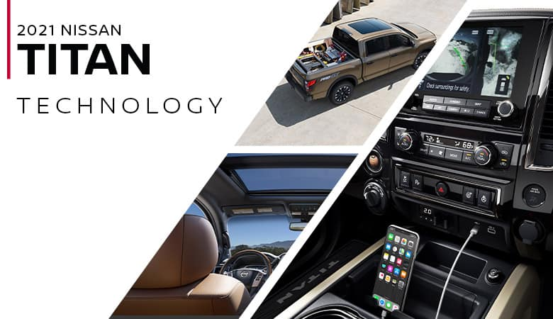 2021 Nissan TITAN Technology - Fiesta Nissan in Edinburg, Texas