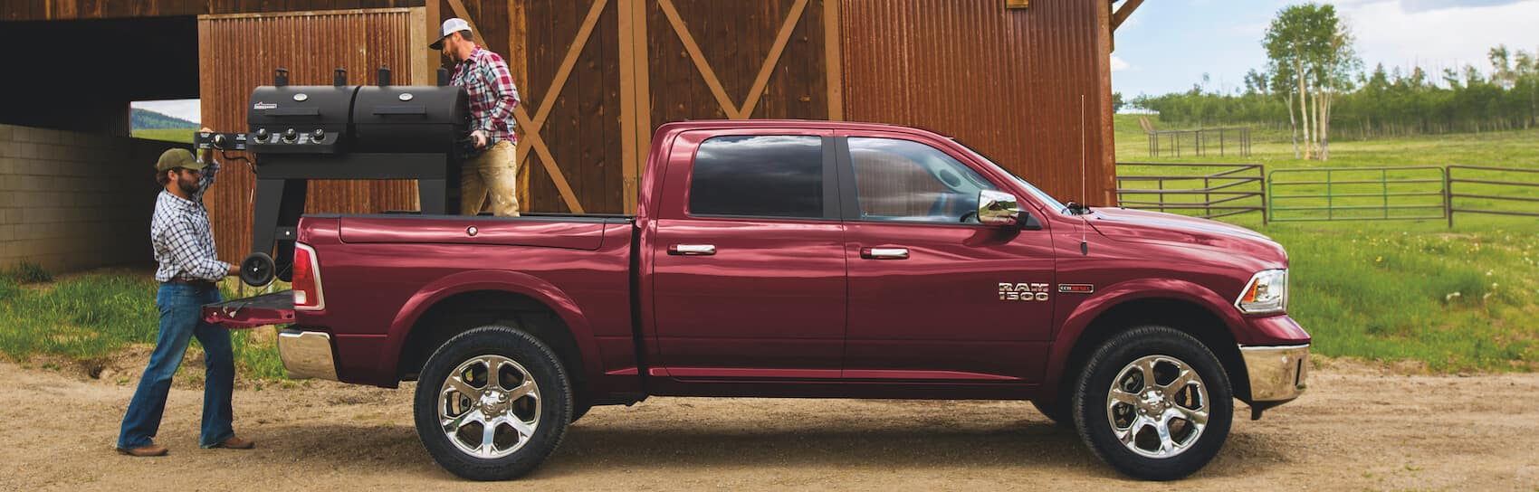Inside the Cabin of the Ram 1500