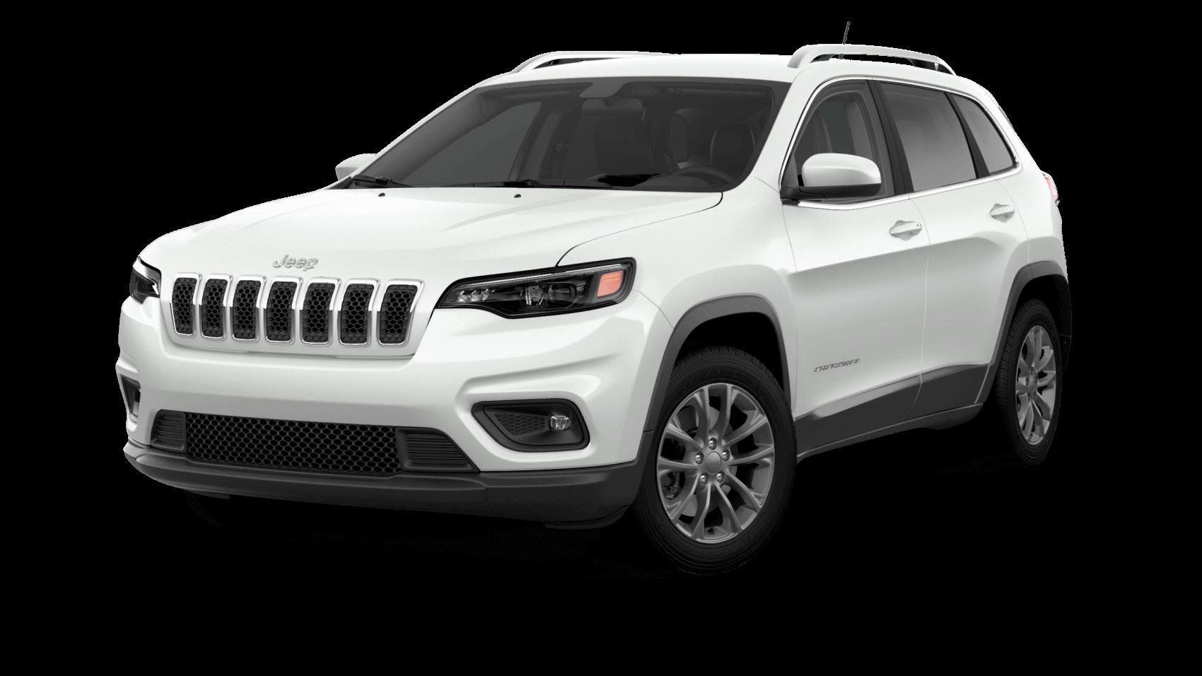 2021 Jeep Cherokee White Findlay CDJR