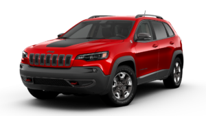 Jeep Cherokee Red