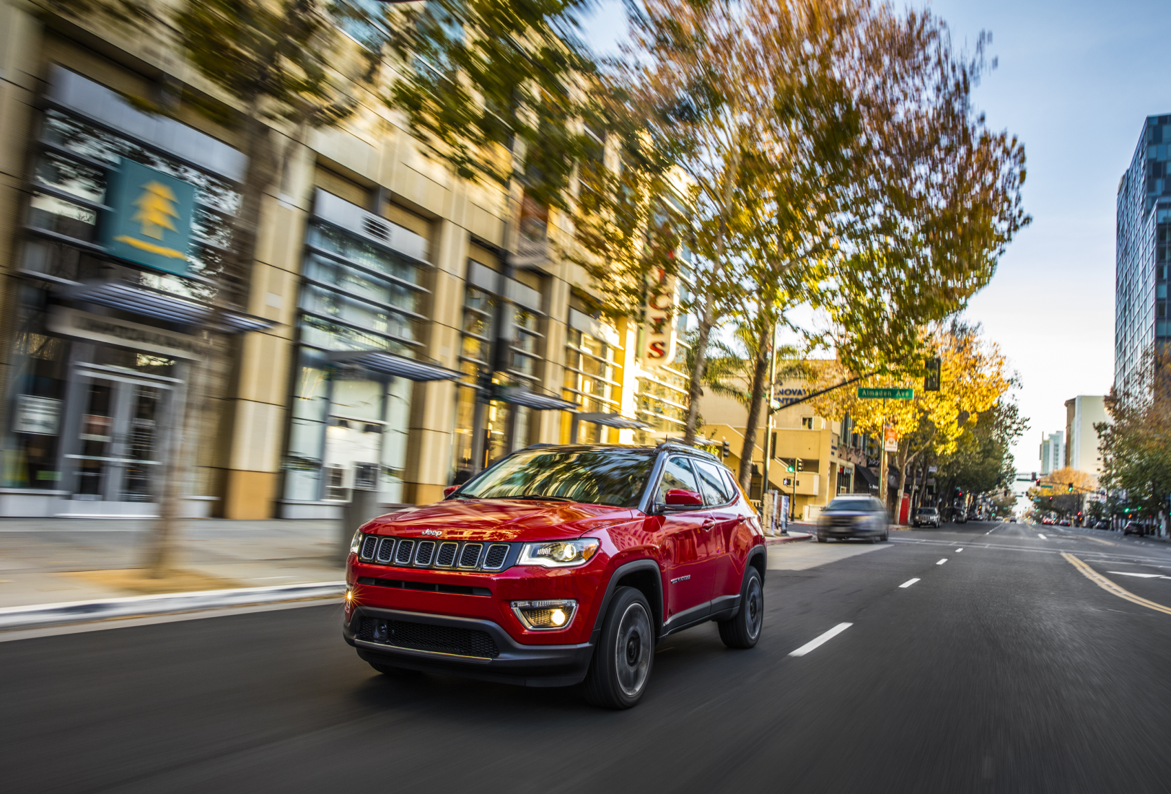 2021 Jeep Compass Red City