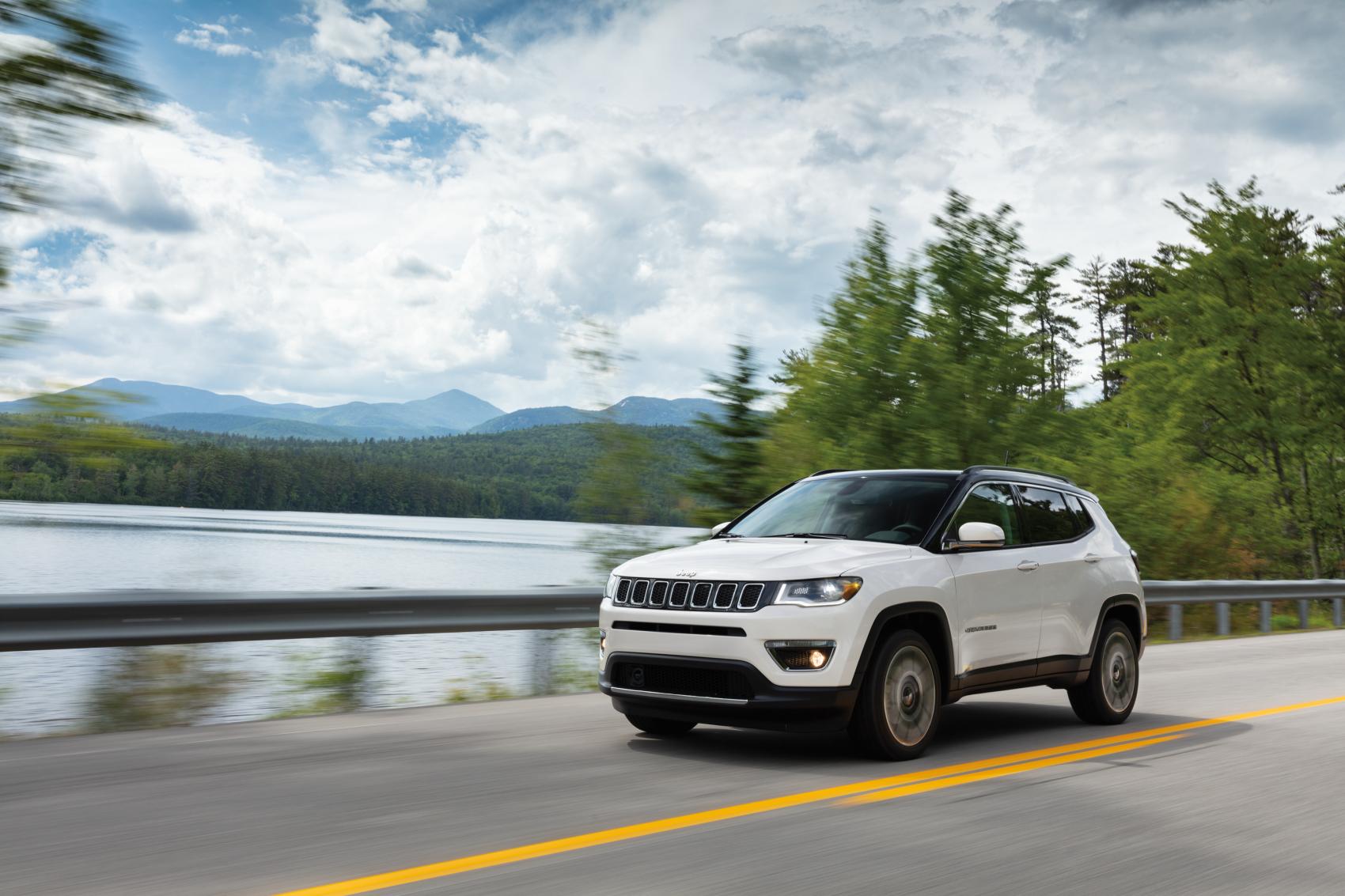 2021 Jeep Compass White Lake