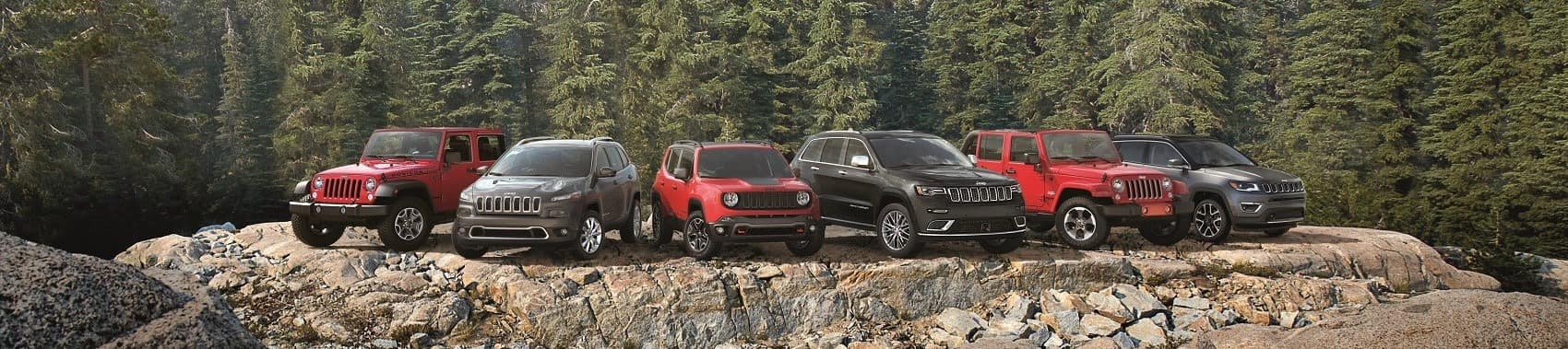 2017 Jeep Family Lineup banner