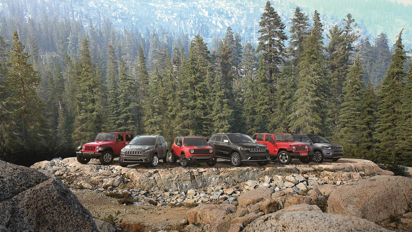 2017 Jeep Family Lineup