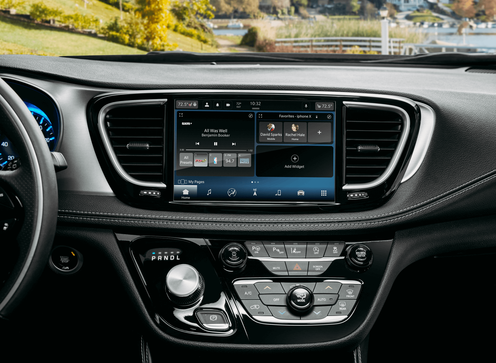 2021 Chrysler Pacifica Interior Tech