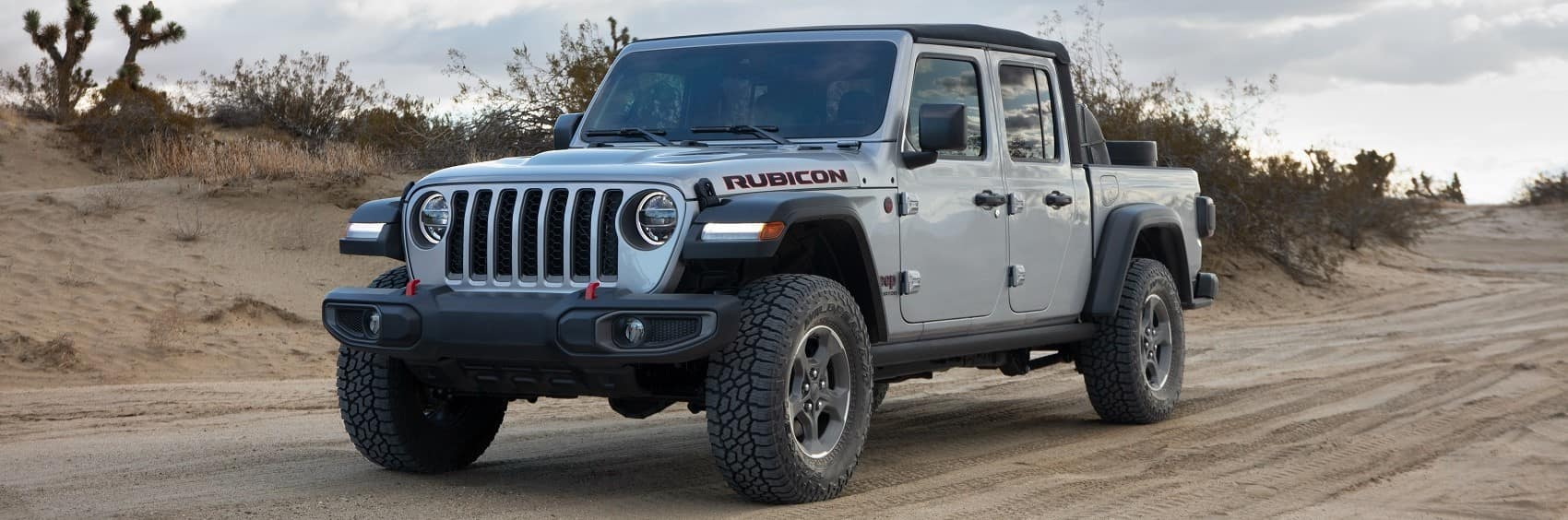 2021 Jeep Gladiator Rubicon off road banner