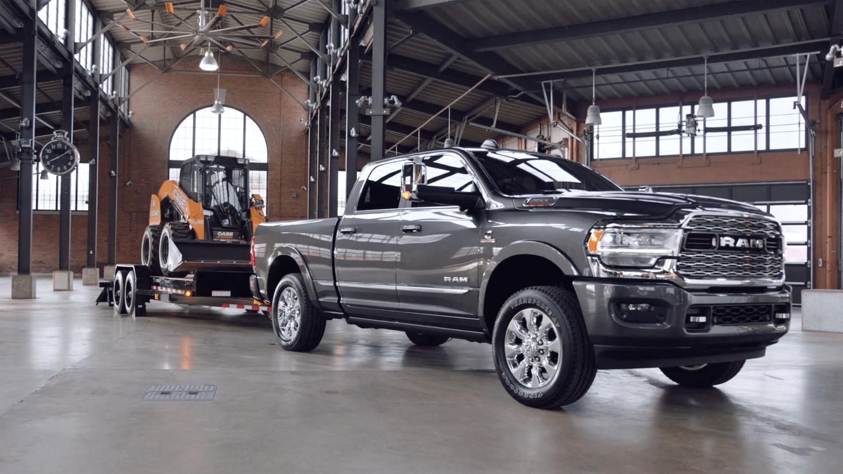 2021 Ram 2500 Towing Gray