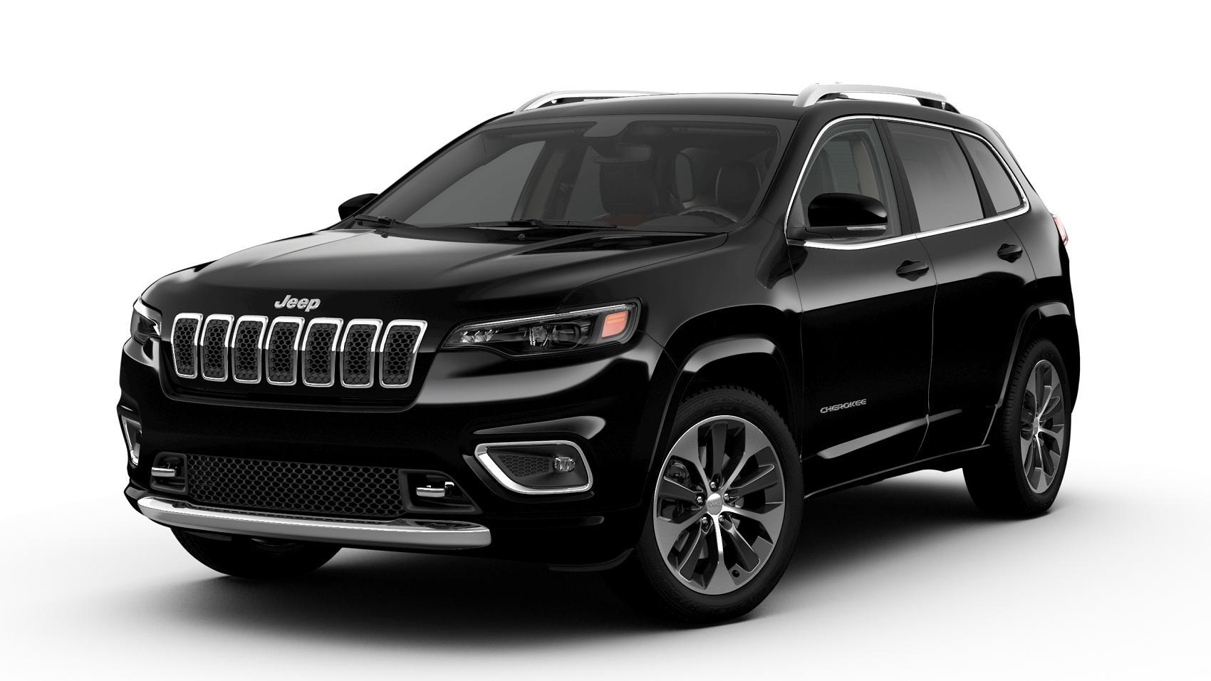 2020 Jeep Cherokee Overland FWD black jellybean