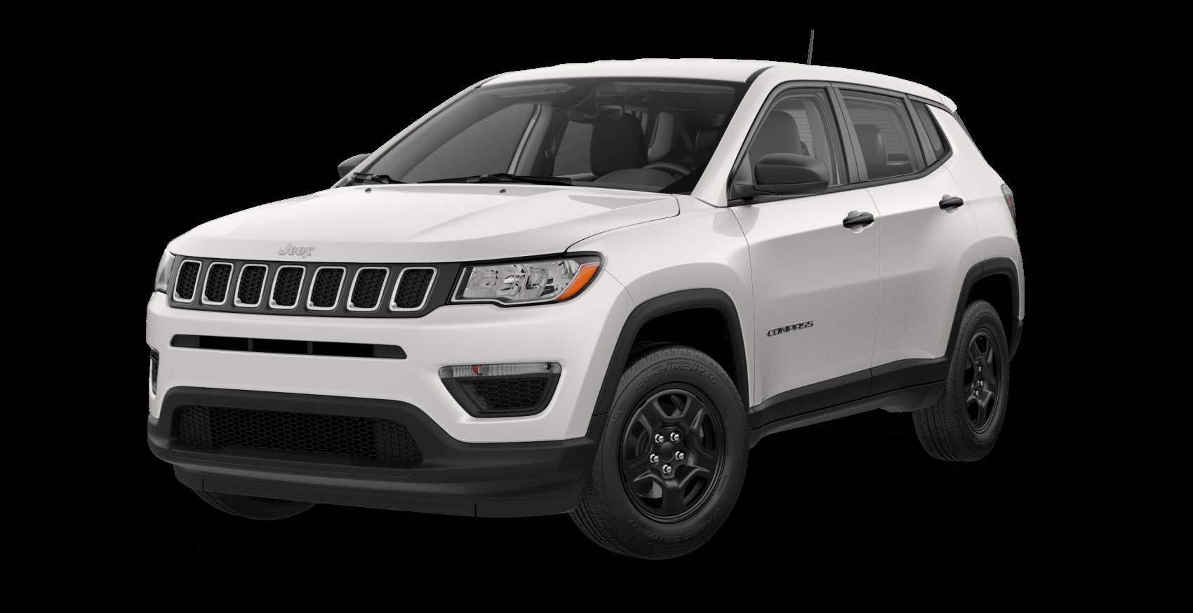 2021 Jeep Compass White