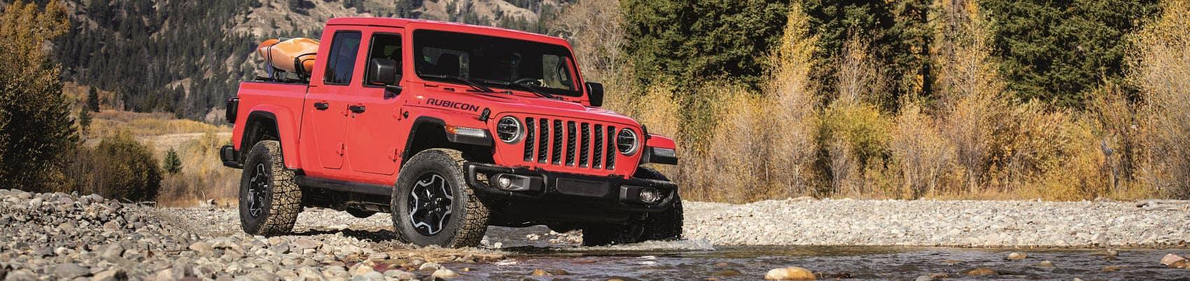 All-terrain Jeep Gladiator