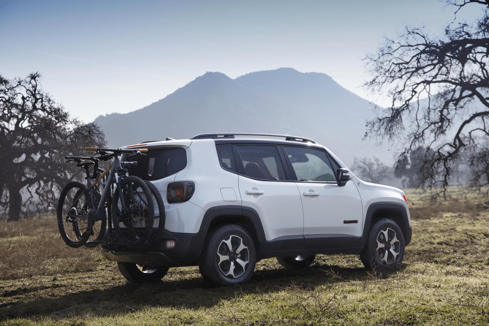 2021 Jeep Renegade White