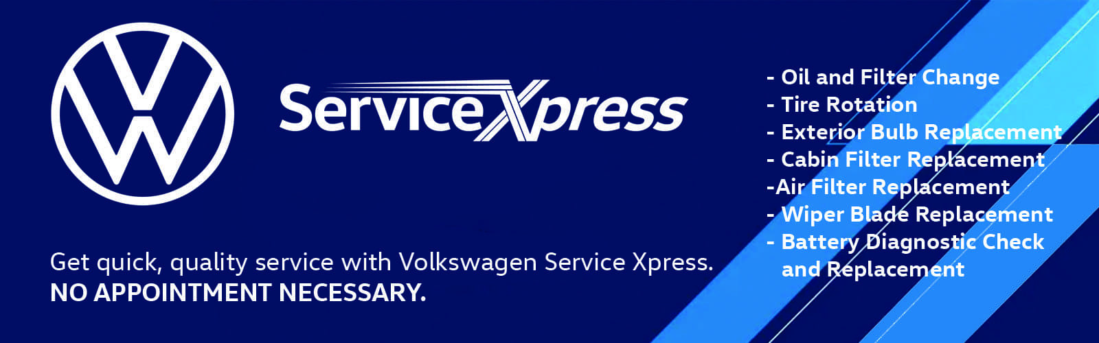 xpress service banner