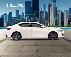 White 2020 Acura ILX