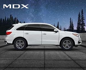 Silver 2020 Acura MDX