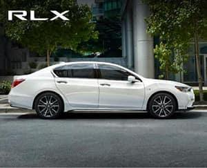 Silver 2020 Acura RLX