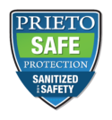 Sanitized for Safety Logo