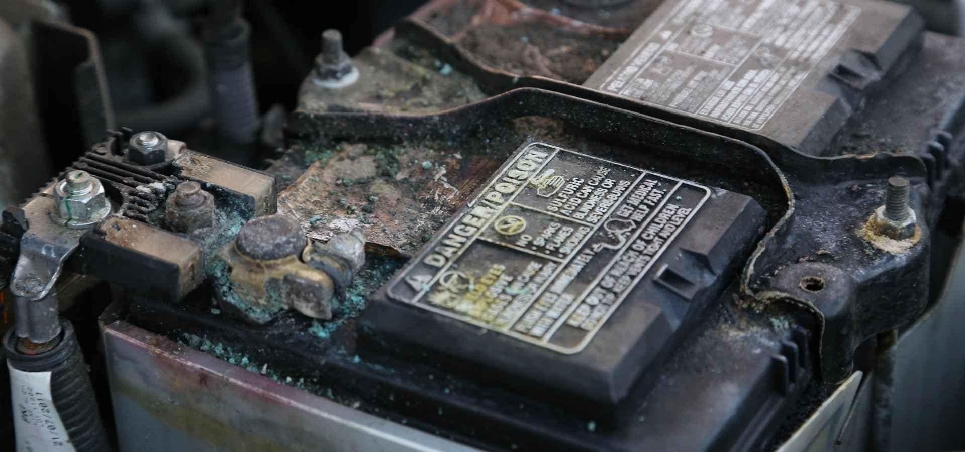 Mazda Battery Corrosion