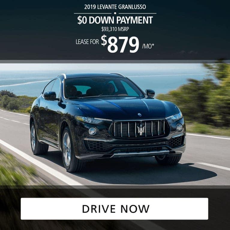 2019 Maserati Levante GranLusso Lease
