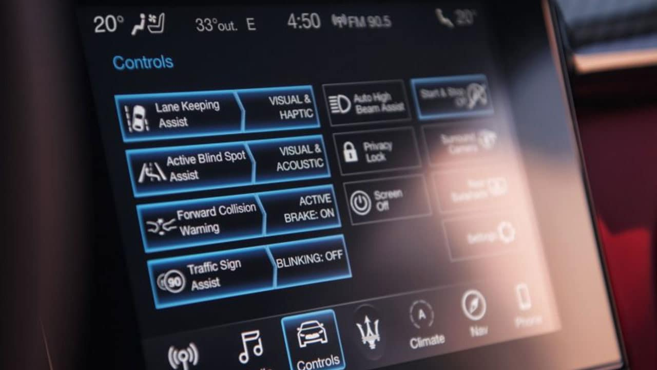 Maserati Touch Control Plus Infotainment System Explained