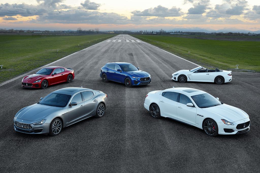0% APR on a New 2019 Maserati
