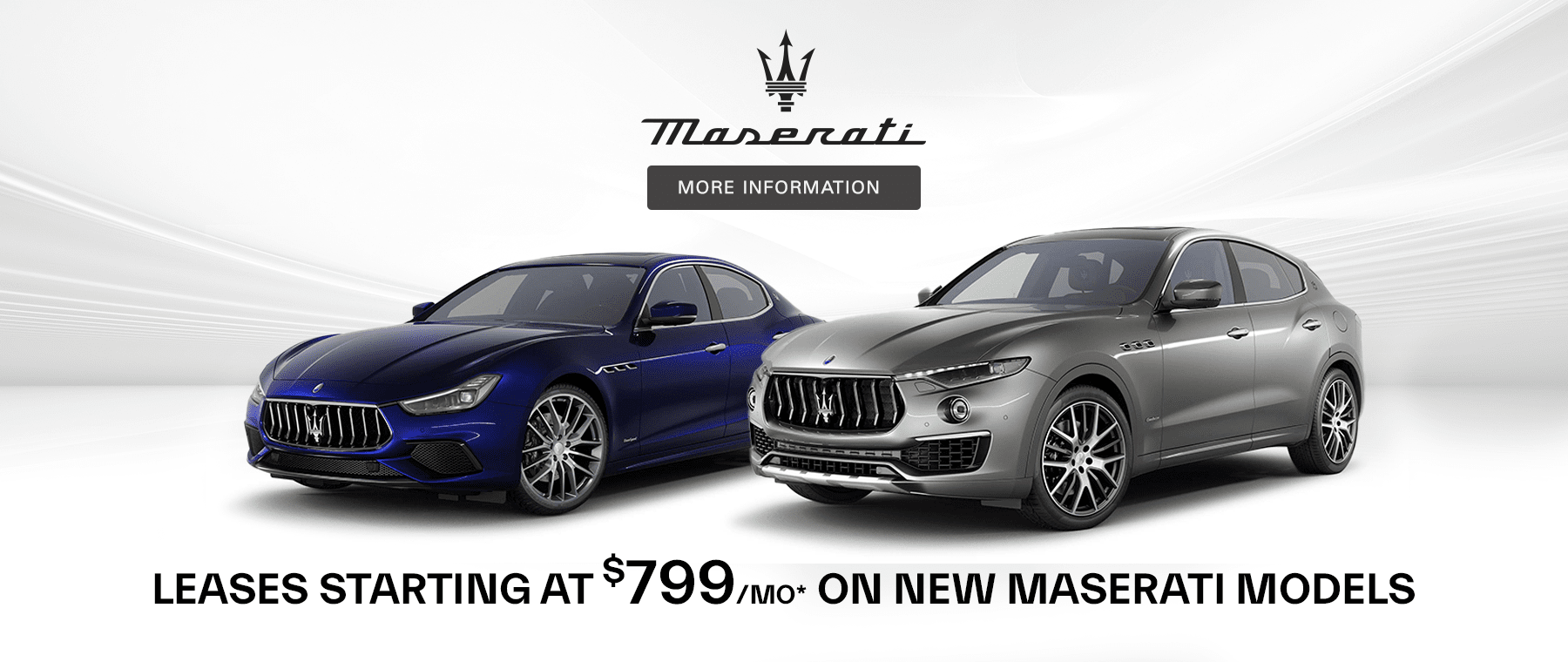 Lease a new Maserati in New York