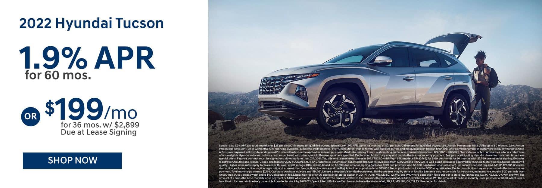 2022 Hyundai Tucson June Offer in Greenville, TX