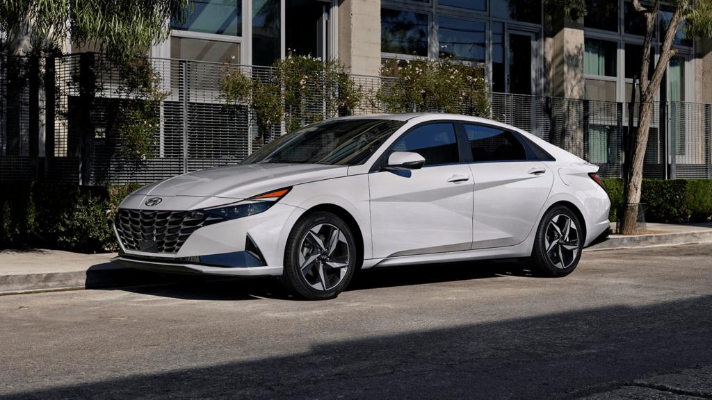 2021 Hyundai Elantra Hybrid Exterior
