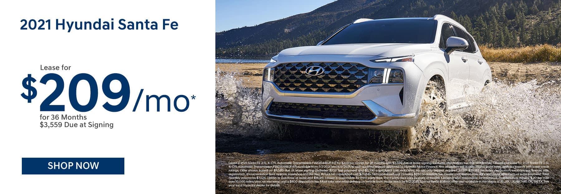 2021 Hyundai Santa Fe For Sale In Greenville